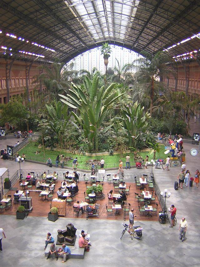 La vieja estaci n de atocha - Jardin tropical atocha ...