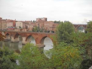 Albi: puentes sobre el río Tarn